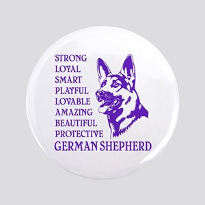 "LOYAL DOG 3.5"" Button"