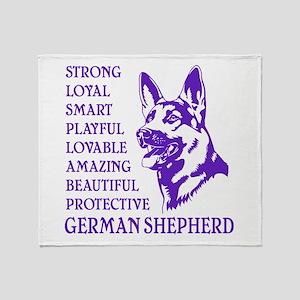 LOYAL DOG Throw Blanket