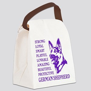 LOYAL DOG Canvas Lunch Bag