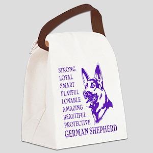 LOYAL DOG Canvas Lunch Bag