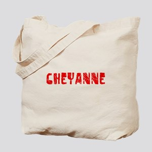 Cheyanne Faded (Red) Tote Bag