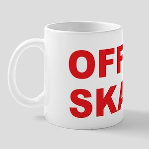 """Office gag gift """"Office Skank"""" Large Mug"""