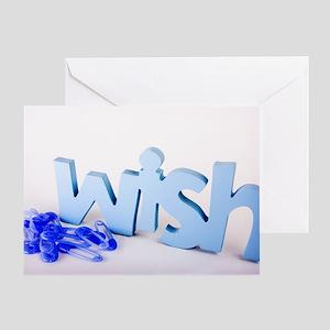 Wish: Baby Boy Greeting Card