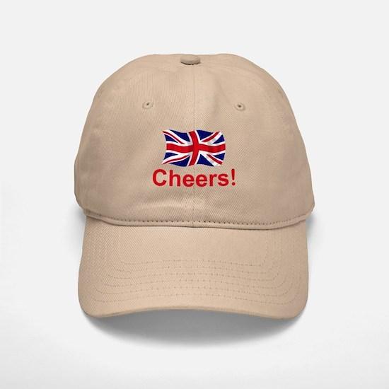 British Cheers! Baseball Baseball Cap