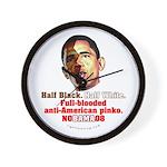 Full-blooded Pinko anti-Obama Wall Clock
