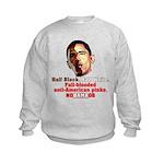 Full-blooded Pinko anti-Obama Kids Sweatshirt