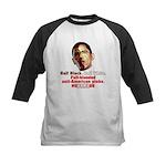 Full-blooded Pinko anti-Obama Kids Baseball Jersey