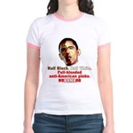 Full-blooded Pinko anti-Obama Jr. Ringer T-Shirt