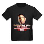 Full-blooded Pinko anti-Obama Kids Dark T-Shirt