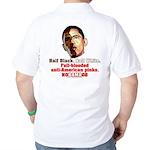 Full-blooded Pinko anti-Obama Golf Shirt