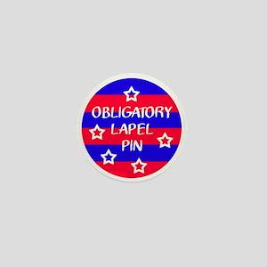 Obligatory Lapel Pin Mini Button