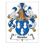 Kindler Family Crest Small Poster