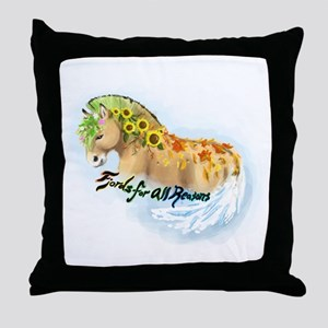 Fjord Reasons Throw Pillow