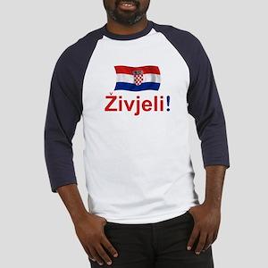 Croatian Zivjeli Baseball Jersey