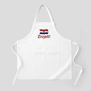 Croatian Zivjeli BBQ Apron