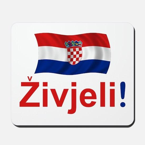 Croatian Zivjeli Mousepad