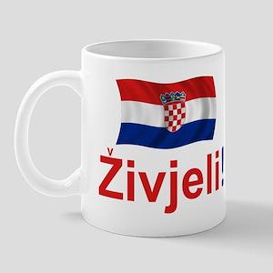 Croatian Zivjeli Mug