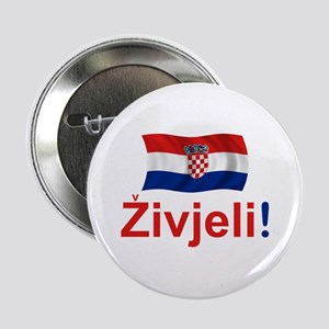 "Croatian Zivjeli 2.25"" Button"