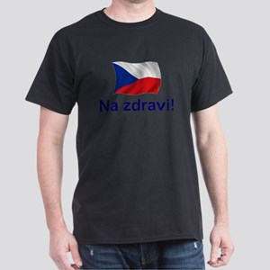 Czech Na zdravi! Dark T-Shirt