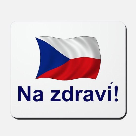 Czech Na zdravi! Mousepad