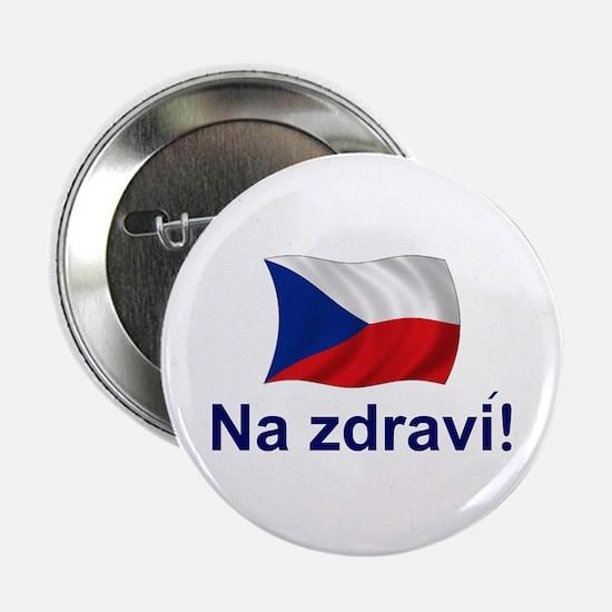 "Czech Na zdravi! 2.25"" Button"