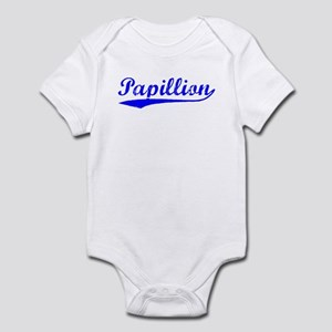 Vintage Papillion (Blue) Infant Bodysuit