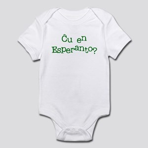 In Esperanto? Infant Bodysuit
