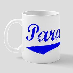 Vintage Paradise (Blue) Mug