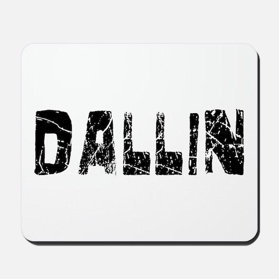 Dallin Faded (Black) Mousepad