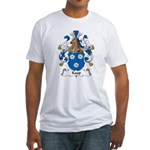 Kaup Family Crest Fitted T-Shirt