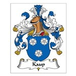 Kaup Family Crest Small Poster