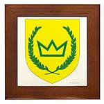 King of the West Framed Tile