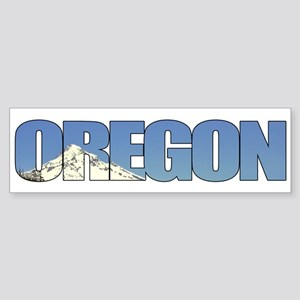 Oregon with Mt. Hood Bumper Sticker