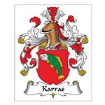 Karras Family Crest Small Poster