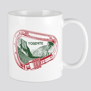 Yosemite Climbing Carabiner Mugs