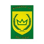 Kingdom of the West Rectangle Magnet (10 pack)