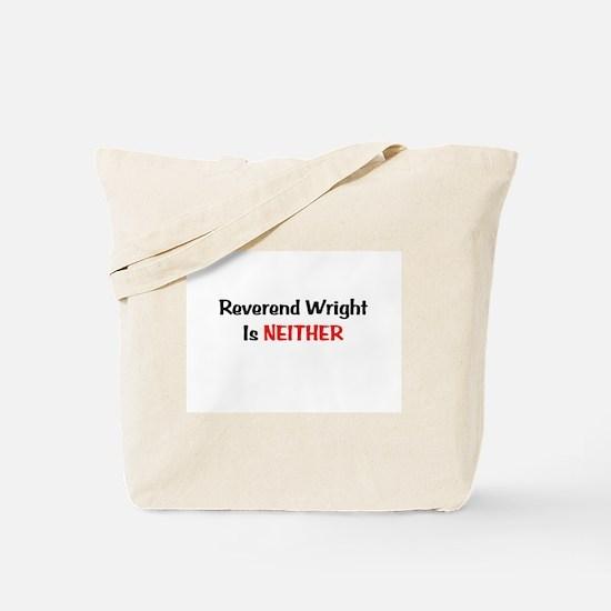 Funny Reverend Tote Bag