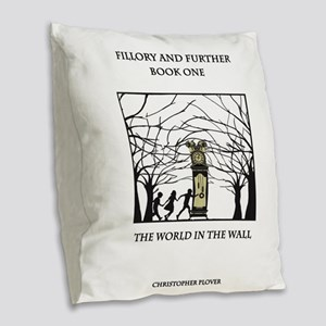 Fillory and Further Book One Burlap Throw Pillow