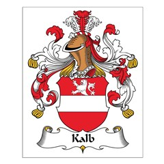 Kalb Family Crest Posters
