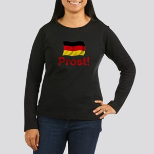 German Prost (Cheers!) Women's Long Sleeve Dark T-