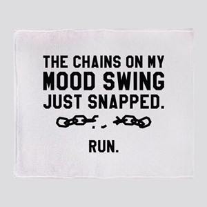 Mood Swing Chains Stadium Blanket