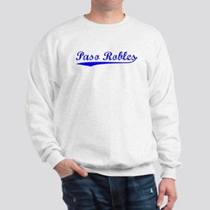 Vintage Paso Robles (Blue) Sweatshirt