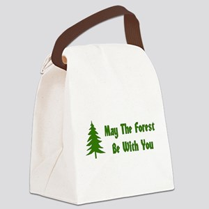 May The Forest Be With You Canvas Lunch Bag