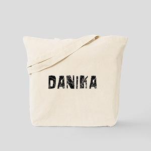 Danika Faded (Black) Tote Bag