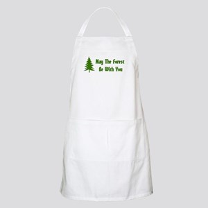 May The Forest Be With You Light Apron