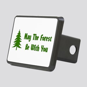 May The Forest Be With You Rectangular Hitch Cover