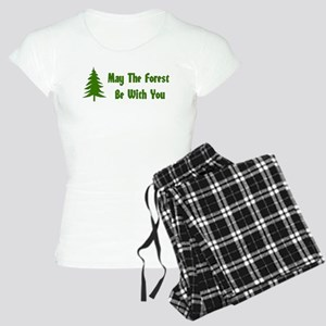 May The Forest Be With You Women's Light Pajamas