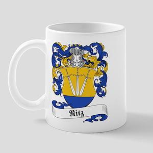 Ritz Family Crest Mug