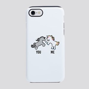 You Me Horse Unicorn iPhone 7 Tough Case