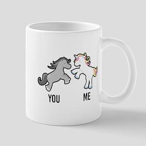 You Me Horse Unicorn Mug